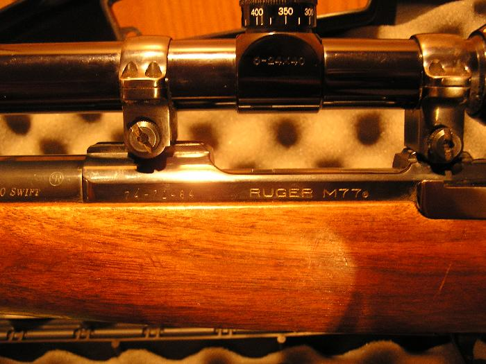 Ruger - Ruger M77 220 Swift Bull Barrel - Picture 5