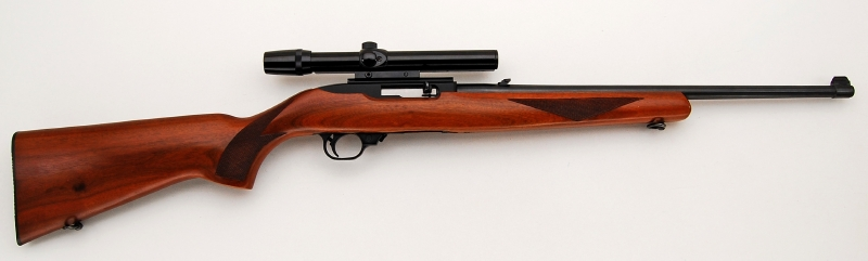 RUGER MODEL 10/22 CARBINE - CALIBER 22 LONG RIFLE SEMI AUTO & 4X SCOPE - Picture 2