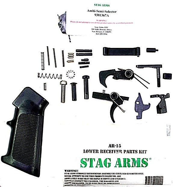 STAG ARMS AR15 Lower Parts Kit w/Ambi. Safety - Picture 1