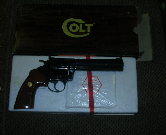 Colt - COLT BOA CAL .357 MAG IN THE BOX SUPER NICE!! - Picture 3