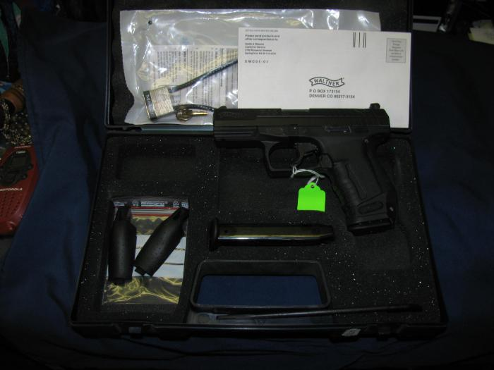 Walther - WALTHER P99 CAL 9MM WITH TO HIGH CAP MAGS. - Picture 1