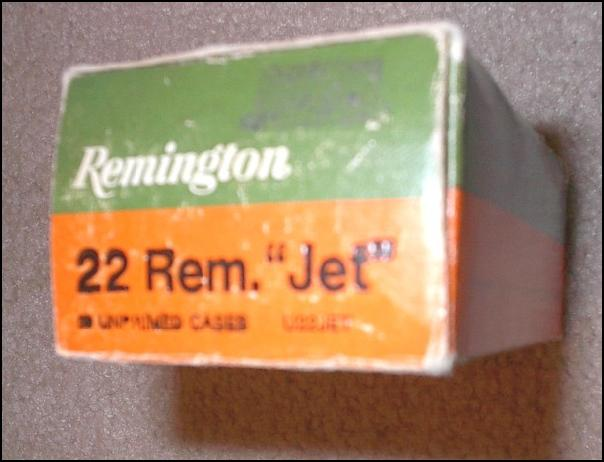 22 Rem. JET Remington Ammo and Brass - Picture 1