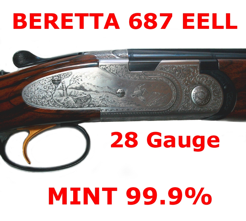 Beretta - 687 EELL 28 Gauge MINT! Incredible Wood  L@@K... - Picture 1