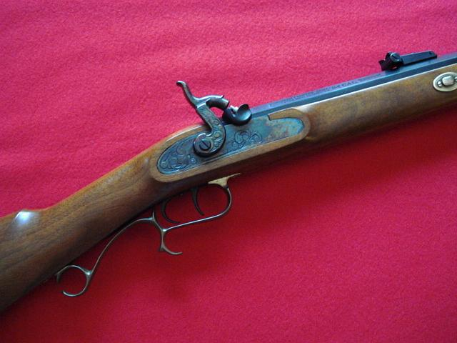Thompson / Center Arms - 54 CALIBER HAWKINS SIDE LOCK LIKE NEW - Picture 3