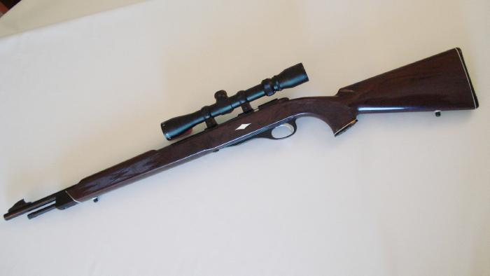 REMINGTON - **NYLON 12** .22 BOLT ACTION TUBE FEED AND SCOPED - Picture 2