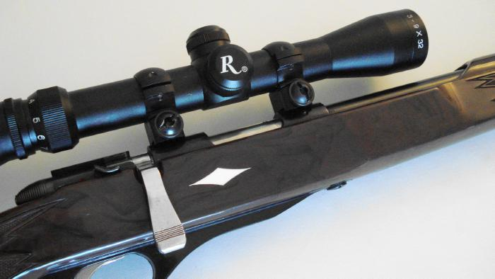 REMINGTON - **NYLON 12** .22 BOLT ACTION TUBE FEED AND SCOPED - Picture 9