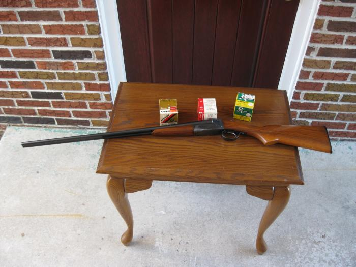Ithaca - Old Ithaca 410 Double Barrel Shotgun - Picture 1