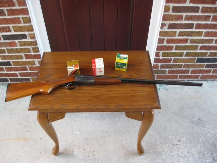 Ithaca - Old Ithaca 410 Double Barrel Shotgun - Picture 7