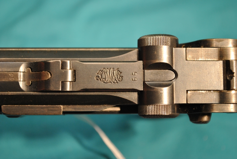 LUGER - P-08 DWM DOUBLE DATED 1920/1915  9MM - Picture 3