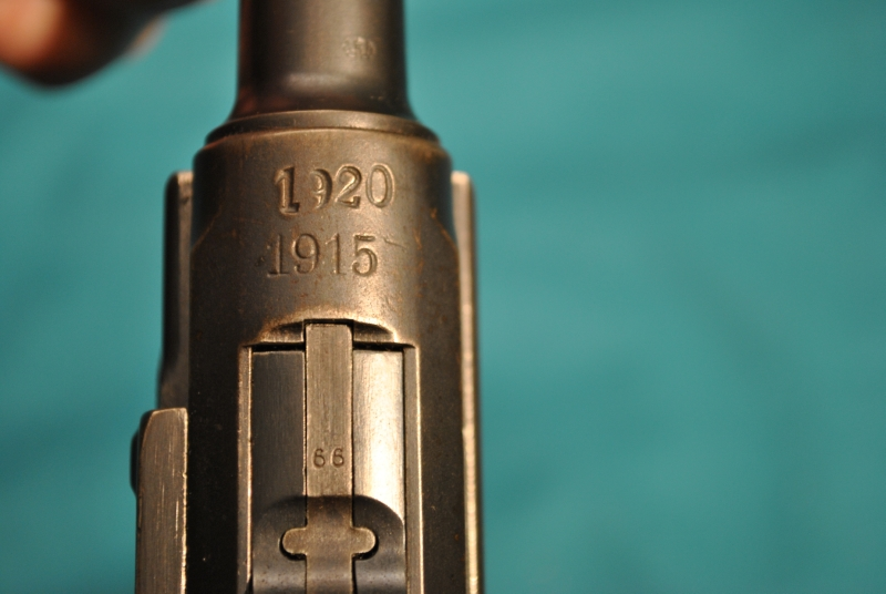 LUGER - P-08 DWM DOUBLE DATED 1920/1915  9MM - Picture 4