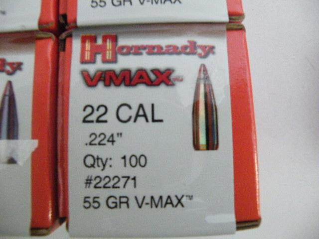 Hornady 22 Cal .224 55 Gr V-Max 500 Count - Picture 2