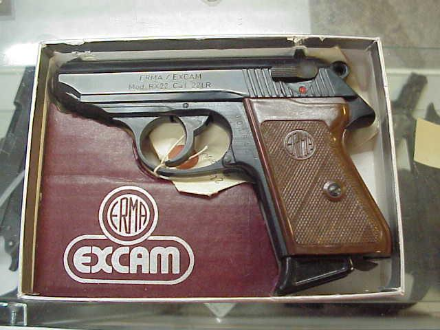 Erma Excam 22 ,ppk style - Erma Excam RX22, 22 LR. PPK style - Picture 2