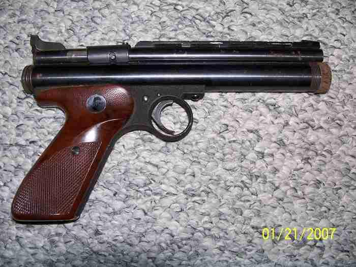 Ted Williams Match pistol  CO2, 22 cal. - Picture 2