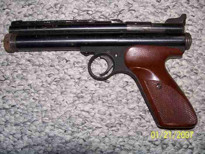 Ted Williams Match pistol  CO2, 22 cal. - Picture 3