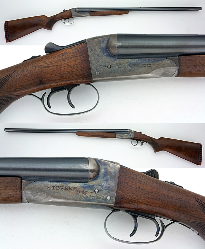 STEVENS ARMS COMPANY MODEL 5100 SIDE BY SIDE SXS 16GA SHOTGUN
