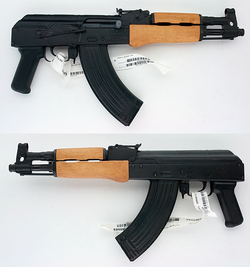 century arms romanian draco ak 47 pistol semi auto like new in the box for sale at. Black Bedroom Furniture Sets. Home Design Ideas