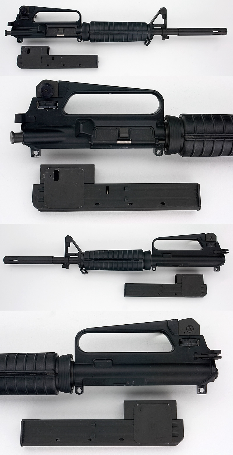 OLYMPIC ARMS - AR-15 COMPLETE UPPER .45 ACP CONVERSION KIT - Picture 2