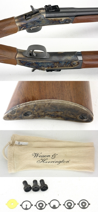 WESSON & HARRINGTON MODEL 1871 - 38-55 WINCHESTER SINGLE SHOT RIFLE - Picture 2
