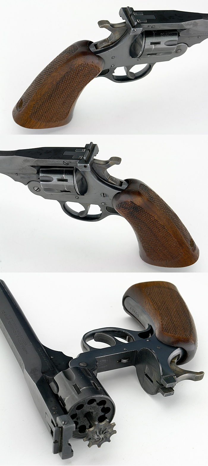 HARRINGTON & RICHARDSON H&R - SPORTSMAN DOUBLE ACTION .22 LR REVOLVER C&R OK - Picture 2