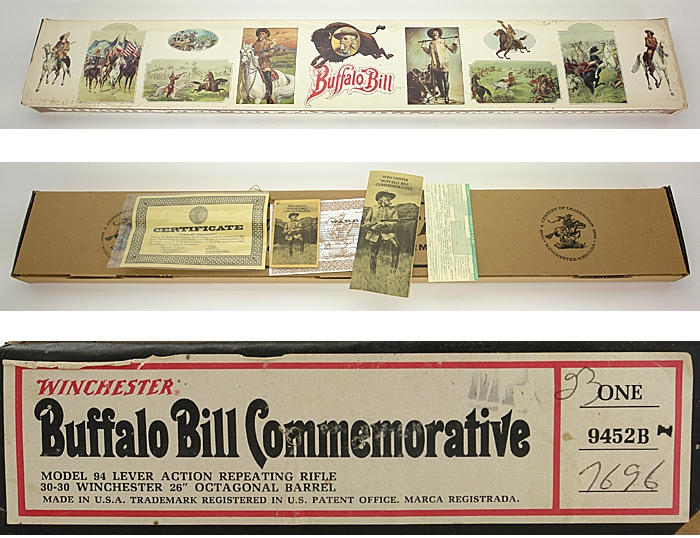 WINCHESTER MODEL 94 - BUFFALO BILL COMMEMORATIVE RIFLE 30-30 WIN LNIB - Picture 4