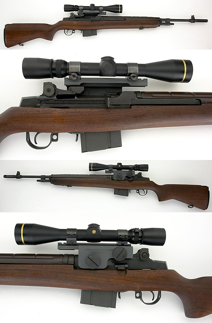 SPRINGFIELD ARMORY M1A SUPER - MATCH RIFLE WITH LEOPOLD SCOPE .308 WIN - Picture 1