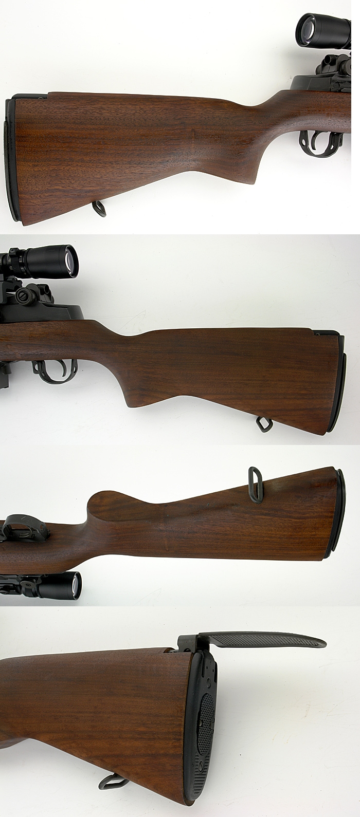 SPRINGFIELD ARMORY M1A SUPER - MATCH RIFLE WITH LEOPOLD SCOPE .308 WIN - Picture 3