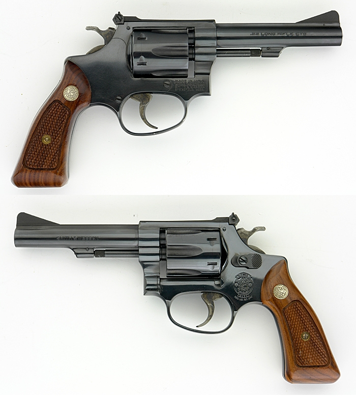 SMITH & WESSON S&W - MODEL 34-2 REVOLVER .22 LONG RIFLE 4 INCH BARREL - Picture 1