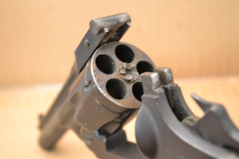 WARNER ARMS CORP, NORWICH - 5 SHOT, 38 SMITH & WESSON, TOP BREAK, C&R OKAY - Picture 3