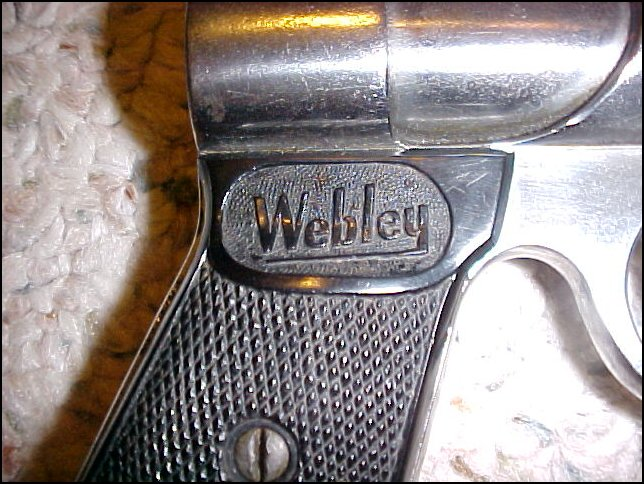 RARE 1923~WEBLEY AND SCOTT JUNIOR .177 AIR PISTOL - Picture 2
