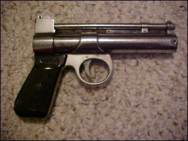 RARE 1923~WEBLEY AND SCOTT JUNIOR .177 AIR PISTOL