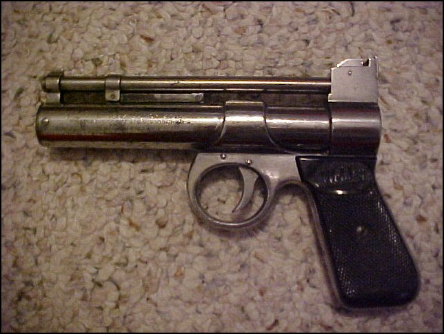 RARE 1923~WEBLEY AND SCOTT JUNIOR .177 AIR PISTOL - Picture 3