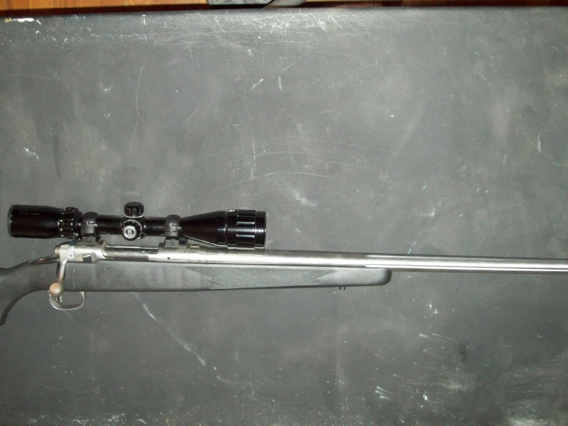 Savage - Savage 223 Bolt Action, stainless Bull Barrel - Picture 4