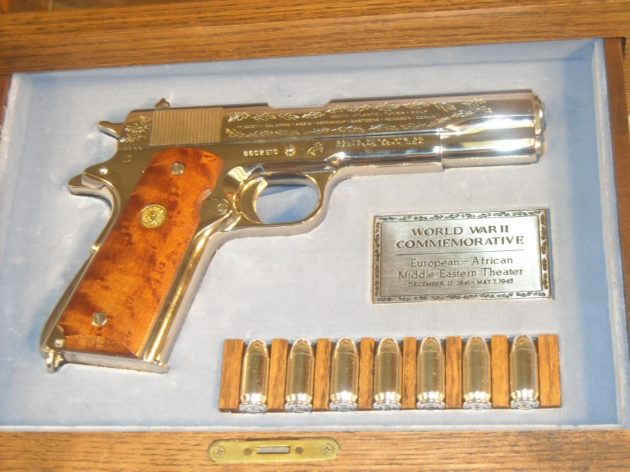 Colt 1911 Commemorative Wwii 45 In Case For Sale at ...