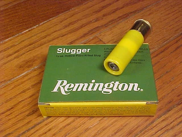 Box of Remington Slugger 20 Gauge HP Rifled Slugs - Picture 1