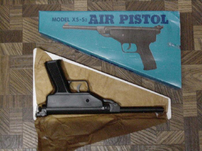 Air Pistol Model XS-S2 (China) .177 FREE SHIPPING