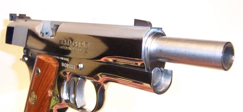 Colt - Gold Cup Nat Match Bright Stainless Enhanced 45acp - Picture 6