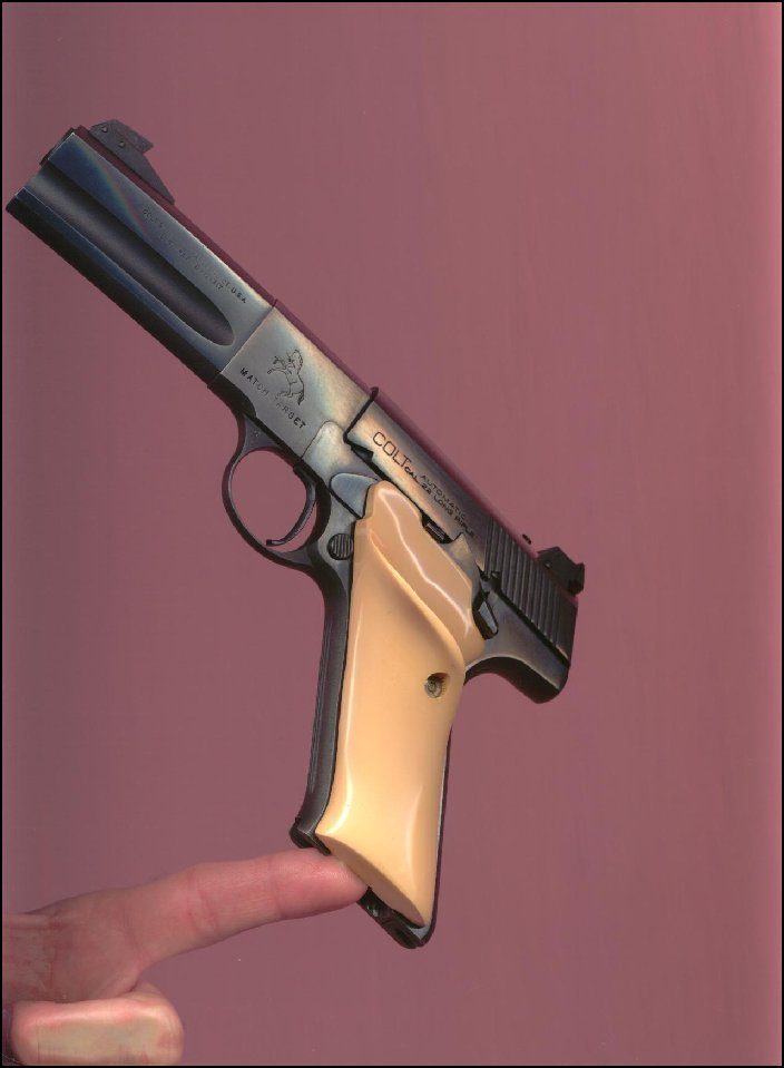 Colt - Ivory grips..Colt Woodsman Second Series.. - Picture 3