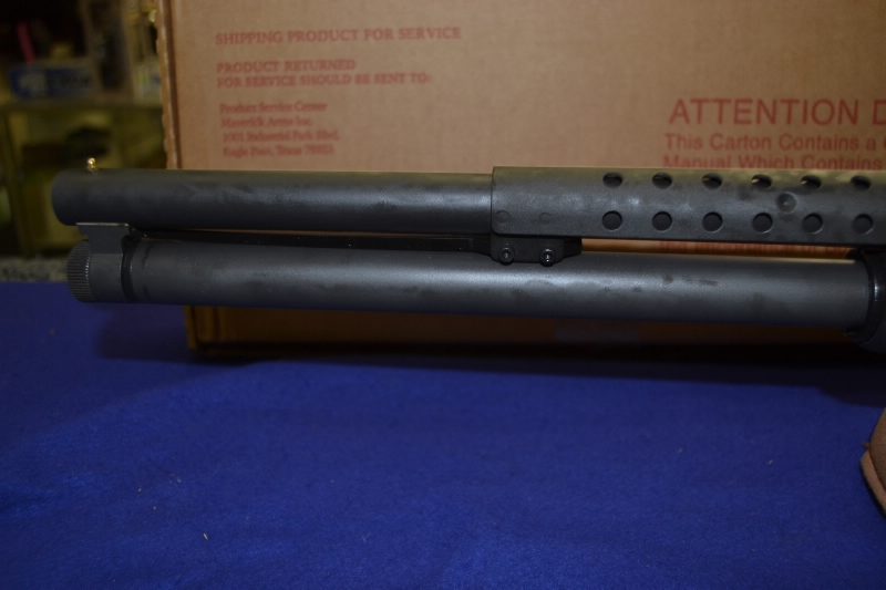 Mossberg - 500 Persuader 12 Ga. 8 shot RIOT w/HEAT SHIELD - Picture 8