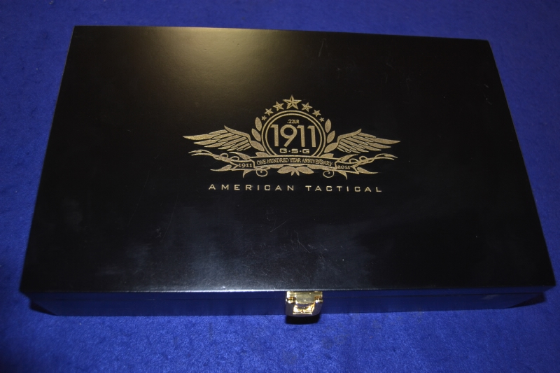 American Tactical GSG - 1911 Anniversary 22lr Knife/Display Case Incl. - Picture 2
