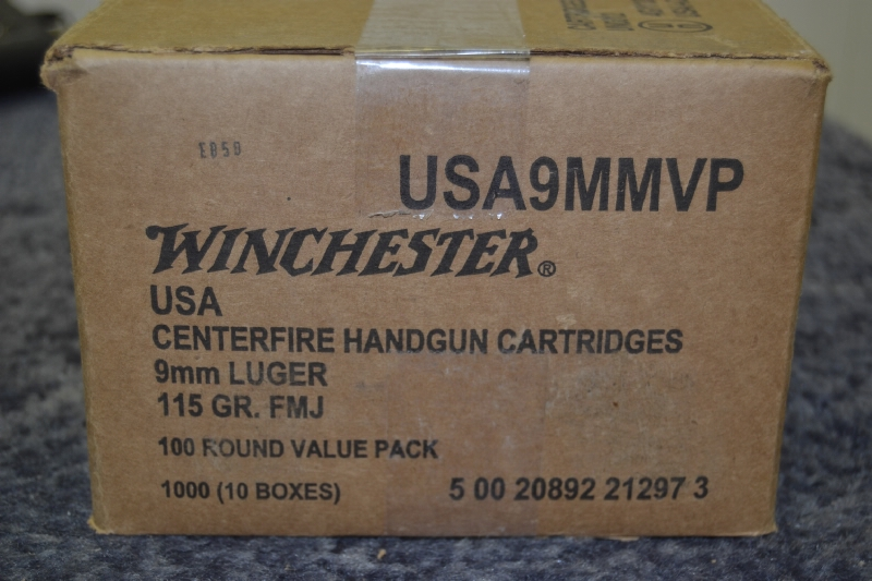 Winchester 9mm Value Pack USA9MMVP 9x19