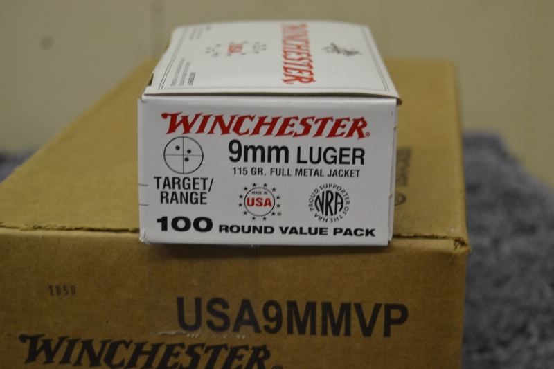 Winchester 9mm Value Pack USA9MMVP 9x19 - Picture 2