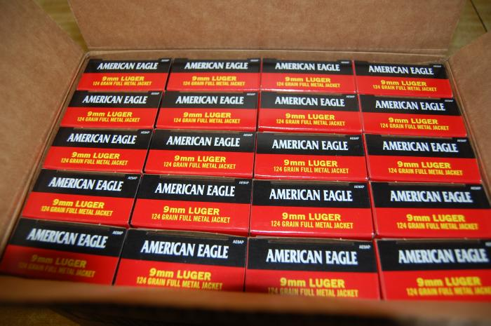1000 Rnds Federal AE 9mm 124 GR FMJ Free Ship - Picture 2