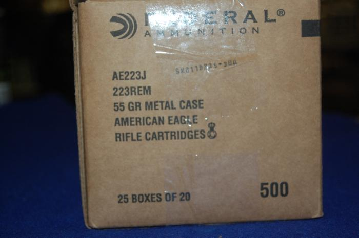 500 Rounds of Federal American Eagle Tactical 223 - Picture 2