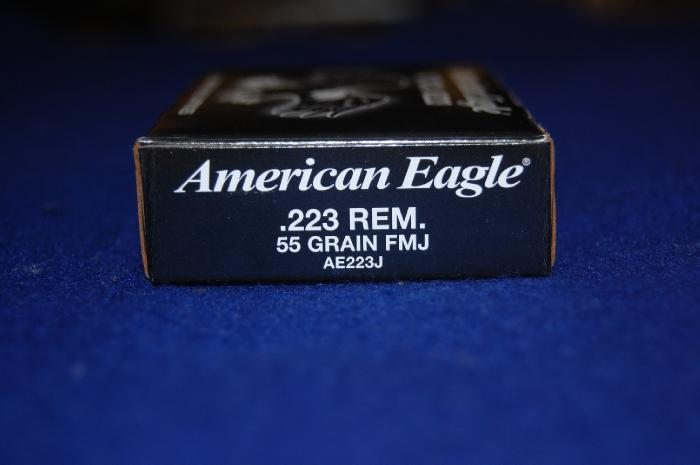500 Rounds of Federal American Eagle Tactical 223 - Picture 4