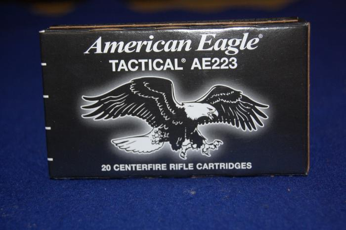 500 Rounds of Federal American Eagle Tactical 223 - Picture 5