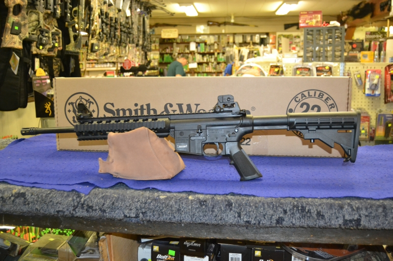 Smith & Wesson - Smith & Wesson  MP15-22 22LR w/brake .22 $15 ship - Picture 1
