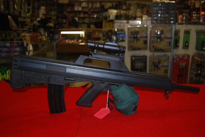 Bushmaster Firearms Inc. M17S Bullpup .223 w/ Illuminated Red Dot Scope