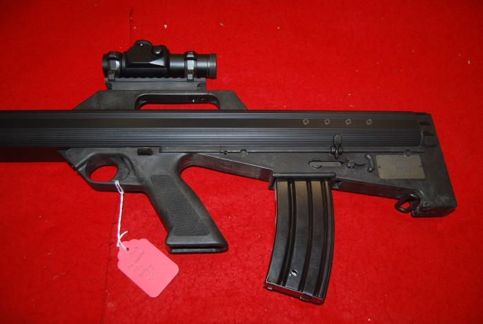 Bushmaster Firearms Inc. - M17S Bullpup .223 w/ Illuminated Red Dot Scope - Picture 9
