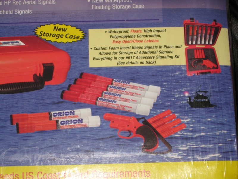 ORION FLARE GUN/SIGNALING KIT-NEW IN BOX - Picture 2
