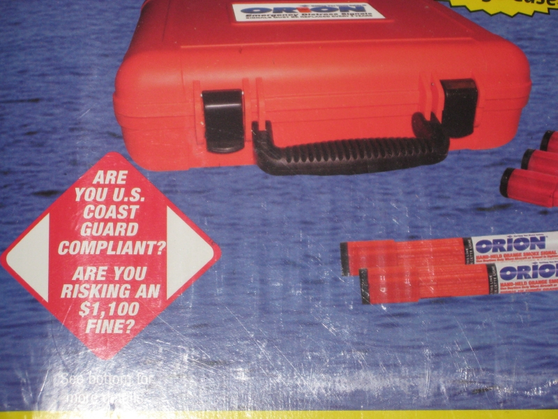 ORION FLARE GUN/SIGNALING KIT-NEW IN BOX - Picture 3